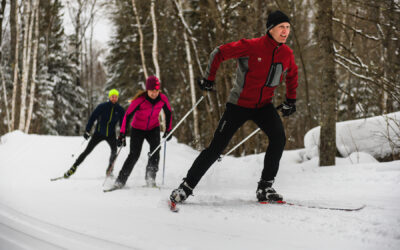 Anticipated Surge in Cross Country Skiing and Snowshoeing